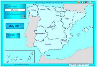 Mapas interactivos para escolares