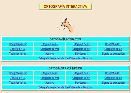 ORTOGRAFÍA en APLICACIONES INTERACTIVAS