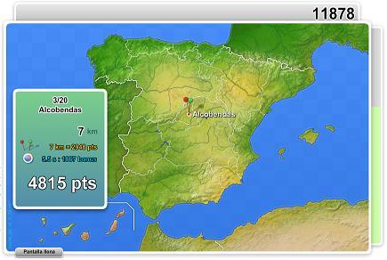 LA GEOGRAFÍA de ESPAÑA y MUNDIAL